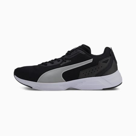 Space Runner SoftFoam+ Running Shoes, Puma Black-Puma White, small-IND