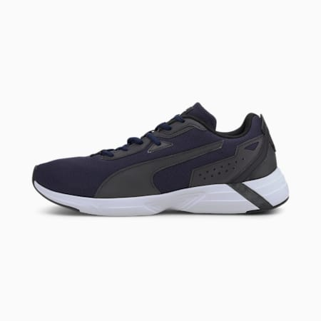 Space Runner SoftFoam+ Running Shoes, Peacoat-Black-White, small-IND