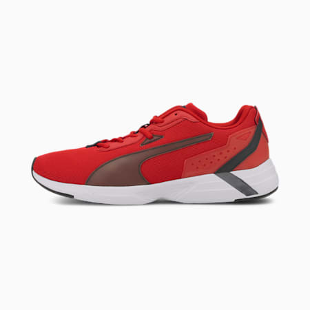 Space Runner SoftFoam+ Running Shoes, High Risk Red-Puma Black, small-IND