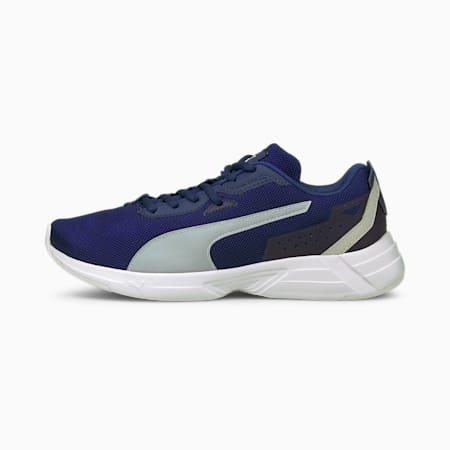 Space Runner SoftFoam+ Running Shoes, Elektro Blue-Gray Violet, small-IND
