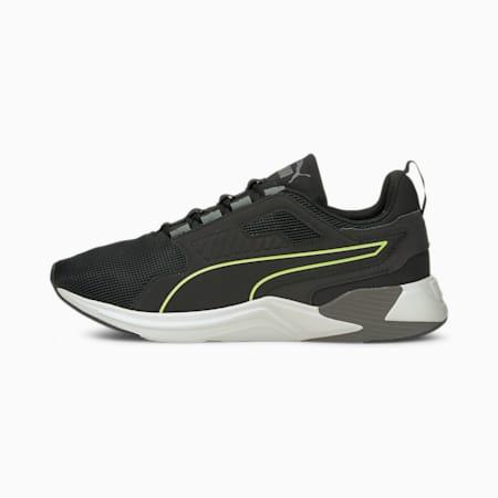 Disperse XT Men's Training Shoes, Puma Black-Green Glare, small-IND