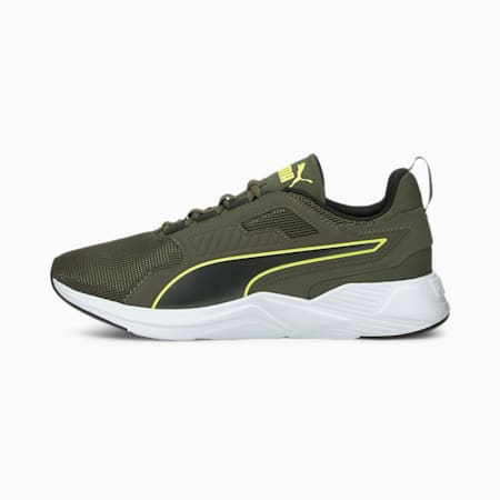Disperse XT Men's Training Shoes, Grape Leaf-Yellow Glow, small-IND