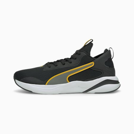 Softride Rift Men's Running Shoes, Puma Black-Mineral Yellow, small-IND