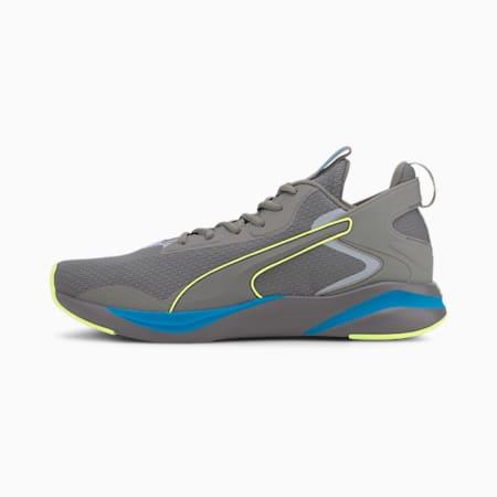 SoftRide Rift Tech Men's Running Shoes, Ultra Gray-Fizzy Yellow, small