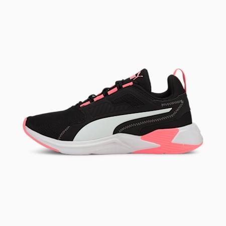 Disperse XT CMEVA Women's Training Shoes, Puma Black-Nrgy Peach, small-IND