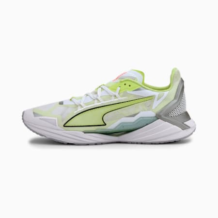 UltraRide Men's Running Shoes, Puma White-Fizzy Yellow, small
