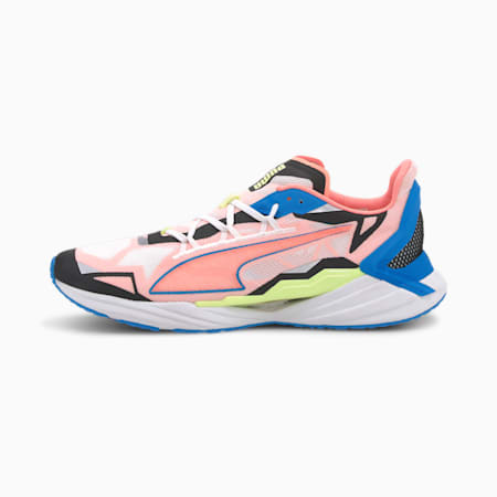 UltraRide Men's Running Shoes, Puma White-Nrgy Blue-Peach, small-SEA