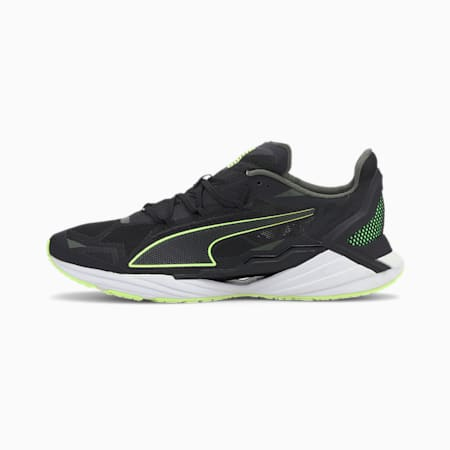 UltraRide ProFoam Men's Running Shoes, P Blck-Elektro Green-P White, small-IND