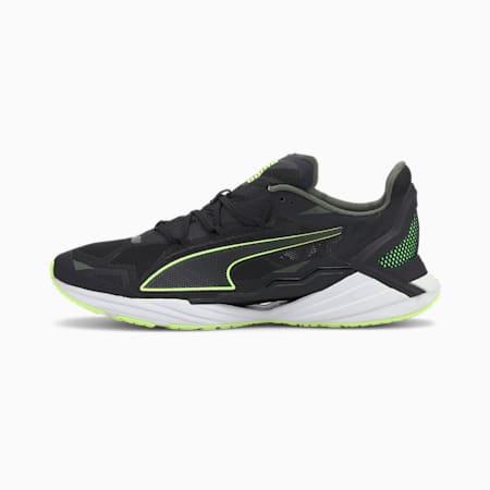 UltraRide Men's Running Shoes, P Blck-Elektro Green-P White, small