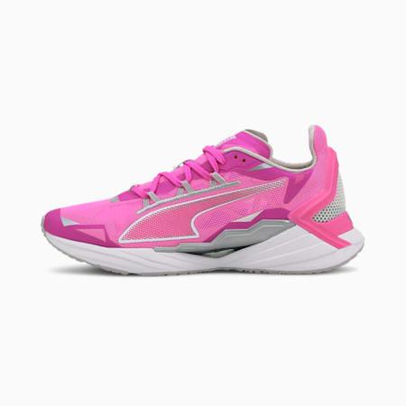 UltraRide Damen Laufschuhe, Luminous Pink-Silver, small