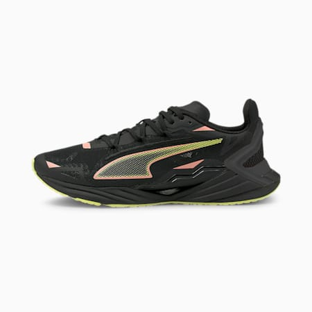 UltraRide Women's Running Shoes, Puma Black-Elektro Peach, small
