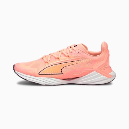 UltraRide Women's Running Shoes, Elektro Peach- Black- White, small