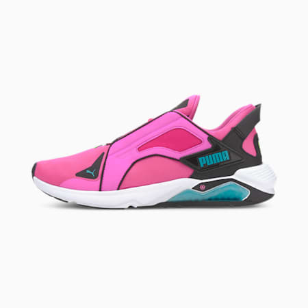 PUMA x FIRST MILE LQDCELL Method Xtreme Women's Training Shoes, Luminous Pink-Puma Black, small-IND