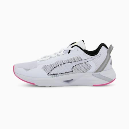 Chaussures de course Minima femme, White-Black-Luminous Pink, small
