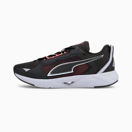Minima Women's Running Shoes, Black-White-Nrgy Peach, small