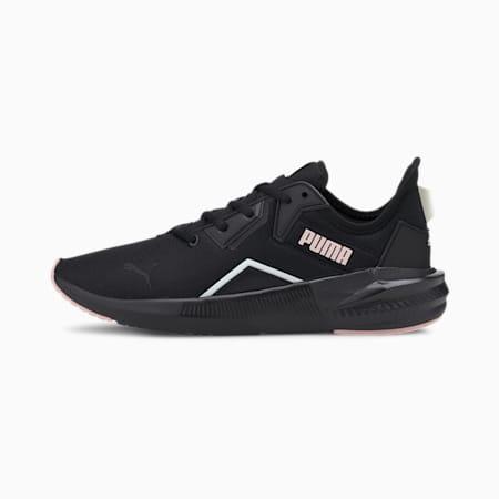 Platinum Shimmer SoftFoam+ Women's Training Shoes, Puma Black-Peachskin, small-IND