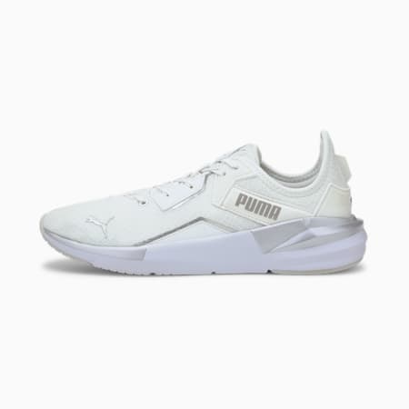 Platinum Metallic SoftFoam+ Women's Training Shoes, Gray Violet-White-Silver, small-IND