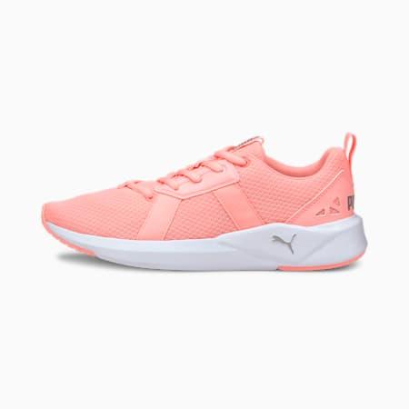 Chroma Women's Training Shoes, Elektro Peach-Puma White, small-IND