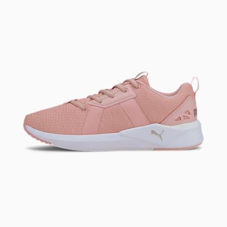 Chroma Knit Women's Training Shoes, Peach-Whisper White-Silver, small