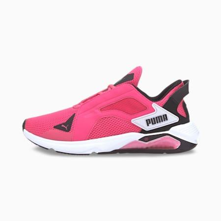 LQDCELL メソッド ウィメンズ トレーニング シューズ, Glowing Pink-Black-White, small-JPN