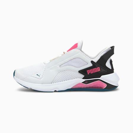LQDCELL Method Damen Trainingsschuhe, Puma White-Puma Black-Pink, small