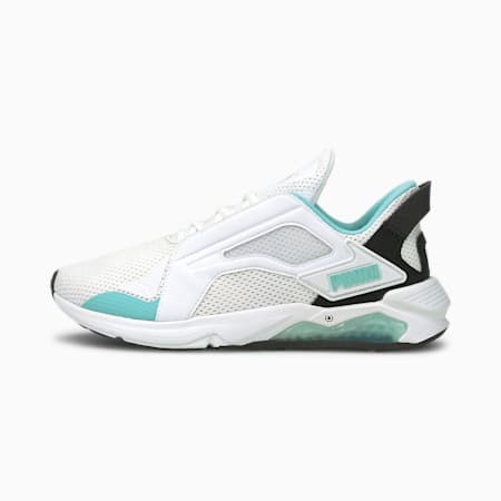 LQDCELL Method Women's Training Shoes, Puma White-Angel Blue, small-IND