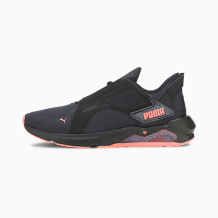 LQDCELL Method Pearl trainingsschoenen voor dames, Puma Black-Nrgy Peach, small