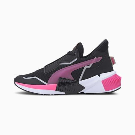 プロヴォーク XT ウィメンズ ミッドカット トレーニング シューズ, Puma Black-Luminous Pink, small-JPN