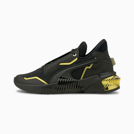 Provoke XT Women's Training Shoes, Puma Black-Puma Team Gold, small-IND
