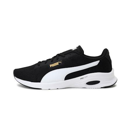 Culture Runner Modern Unisex Shoes, Puma Black-Puma White, small-IND