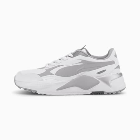RS-G Golf Shoes, Puma White-QUIET SHADE-Quarry, small-SEA