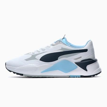 ゴルフ RS-G スパイクレス シューズ, White-Navy-Placid Blue, small-JPN