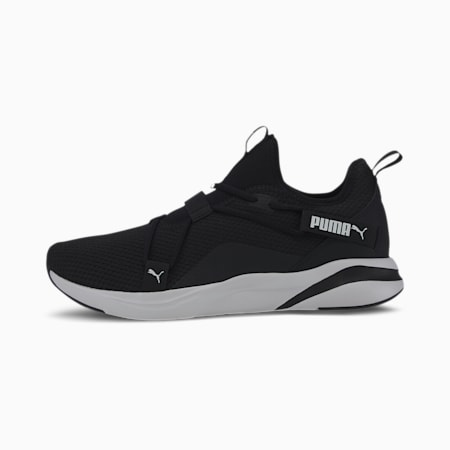 Softride Rift Slip-On Men's Running Shoes, Puma Black-Puma White, small-IND