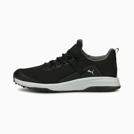 Fusion Evo Men's Golf Shoes, Puma Black-QUIET SHADE, small