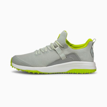 Fusion Evo Men's Golf Shoes, High Rise-Limepunch, small-IND