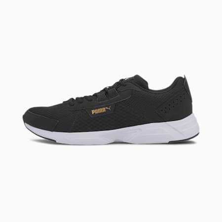 Space Runner Alt SoftFoam+ Running Shoes, Puma Black-Puma White, small-IND