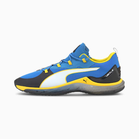 PUMA x GOLDS GYM LQDCELL ハイドラ, Blue-White-Black, small-JPN