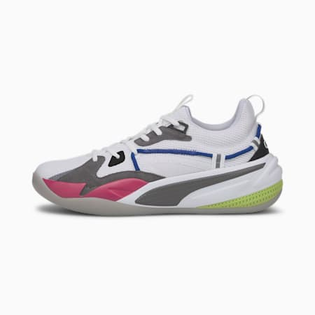 RS-DREAMER Basketball Shoes, Puma White-Steel Gray, small
