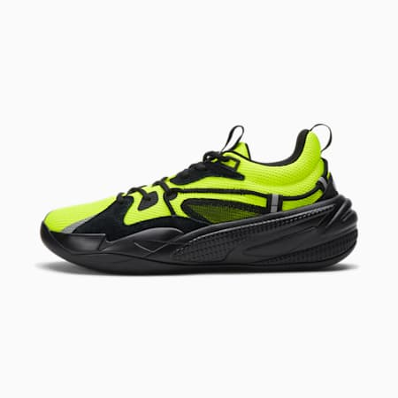 RS-Dreamer Unisex Basketball Shoes, Safety Yellow-Puma Black, small-IND