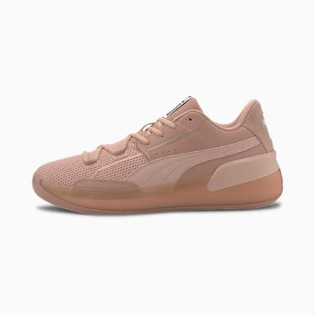 Clyde Hardwood Natural Basketball Shoes, Misty Rose, small