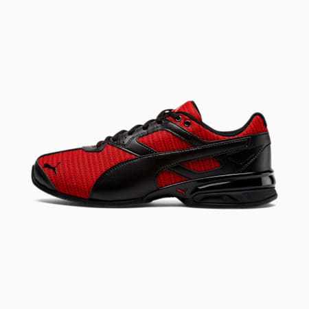 Tazon 6 Ridge Men's Sneakers, Puma Black-High Risk Red, small