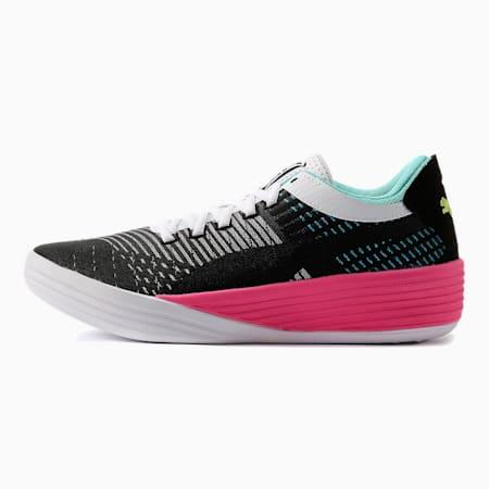 クライド ALL-PRO バスケットボール シューズ, Puma Black-Luminous Pink, small-JPN