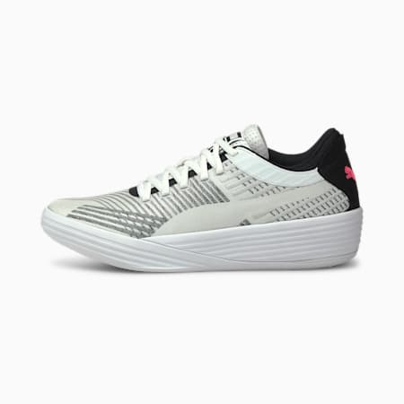 Clyde All-Pro Basketball Shoes, Puma White-Puma Black, small