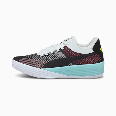 Clyde All-Pro Basketball Shoes, Puma Black-Pink Lady, small