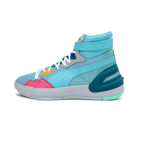 Sky Modern Easter Basketball Shoes, Milky Blue-Corsair, small-IND
