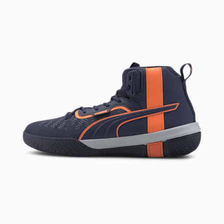 Legacy MM Basketball Shoes, Peacoat-Dragon Fire, small