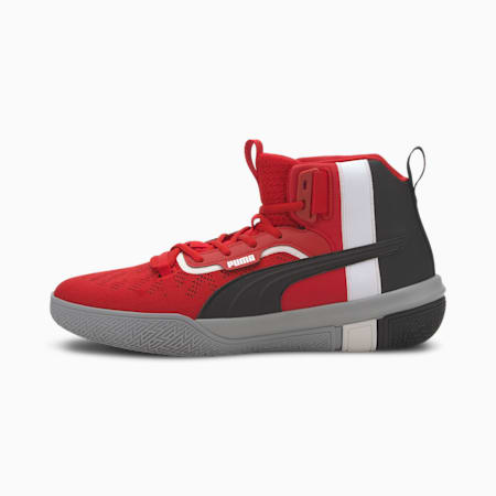 Legacy MM Basketball Shoes, Toreador-Puma Black, small-SEA