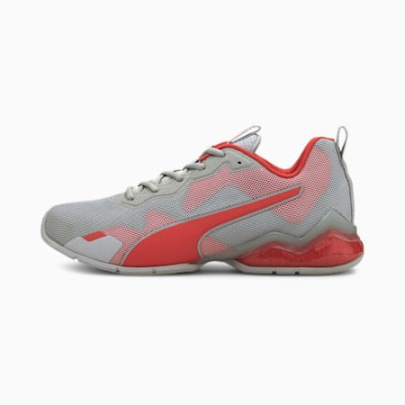 CELL Valiant Men's Training Shoes, Gray Violet-High Risk Red, small