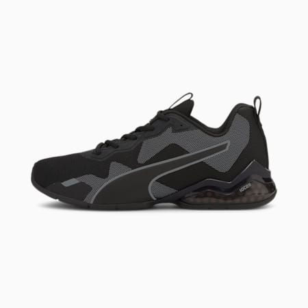 CELL Valiant Men's Running Shoes, Puma Black-Asphalt, small-IND