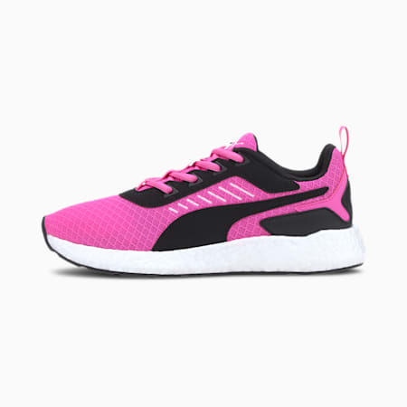 Elate NRGY SoftFoam+ Women's Running Shoes, Luminous Pink-Black-White, small-IND